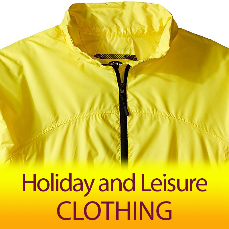 Holiday and Leisure Clothing